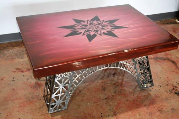 Modern Coffee Table Eiffel Tower Table Modern Industrial