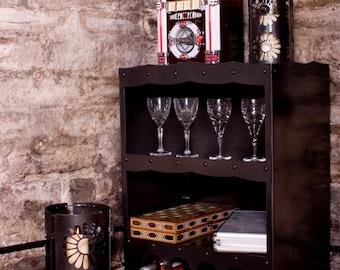 Freestanding Wine Rack and Display Unit