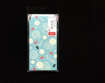 Japanese Envelopes - Goldfish Envelopes  - Small Envelopes - Water And Fish Envelopes -  Summer Envelopes  Set of 8