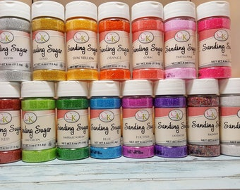 Sanding Sugar CK Products - Various Colors