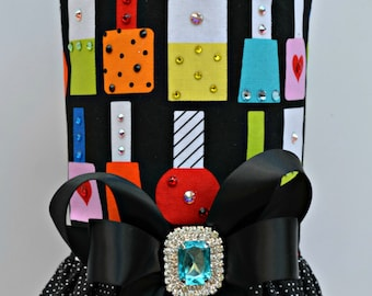 Dog Harness Vest - Nail Polish with Bling Upgrade