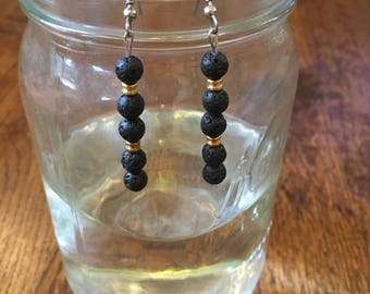 Diffuser bead Earrings