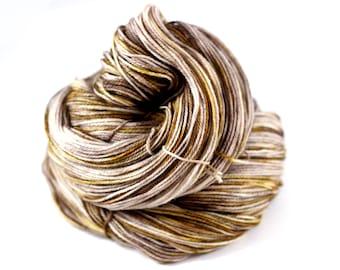 Weathered Wood: 100% superwash merino wool, fingering yarn