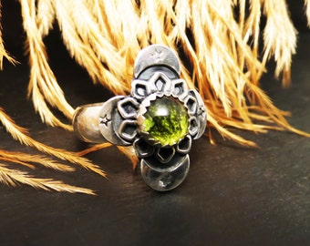 Center of the Universe Pet Fur Memorial Ring EXAMPLE ONLY