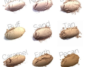 Refill Vegan Mineral Foundation | Powder Foundation | Oil Absorbing | Matte Finish | Non Comedogenic | Makeup Refill | Natural Makeup