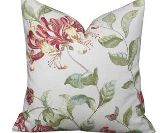 "20"" Nina Campbell Lonicera Pillow Cover"
