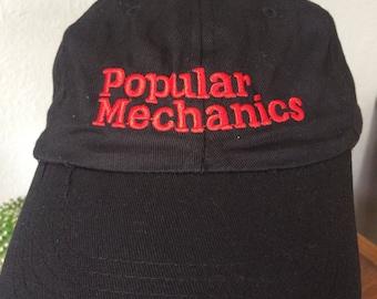 Embroidered popular mechanics dad hat