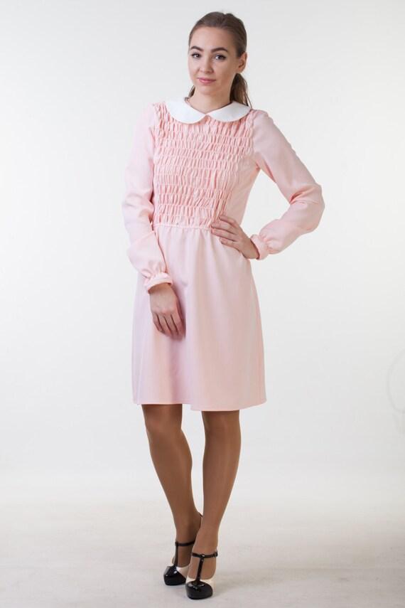 Elf Kleid 11 Kleid elf Kostüm rosa Kleid weiß Kragen Kleid von