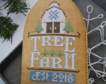 """White Christmas Series - """"Tree Farm"""" - by Hands On Designs"""