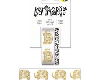 Karmabee Elephant Washi Tape