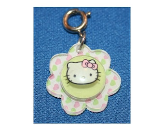 Hello Kitty Flower Charm Bracelet Charms Necklace Earring Charm DIY  Crafts Jewelry or Craft Supplies SANRIO Charm It! High IntenCity