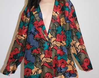 Fall blazer/mom dress