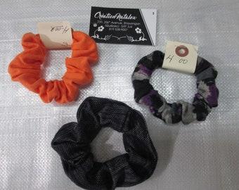 Trio tie/scrunchie hair elastic hair woman/child matching color