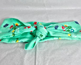 Nya Style Wrap Headband- Baby/ Child/ Adult- Top Knot Headband