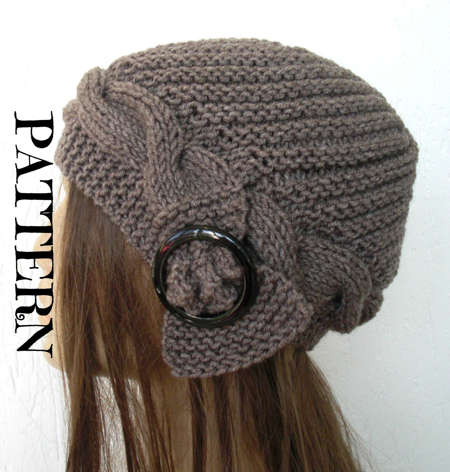 Instant Download Knit hat pattern Digital Hat Knitting