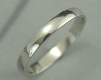 Platinum Men's Band~Platinum Men's Ring~3mm Platinum Ring~3mm Platinum Band~Men's Wedding Band~Men's Wedding Ring~Low Profile Band