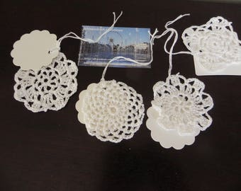 10 tags/marks places all different spirit vintage 6 cm