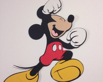 Mickey Mouse die cut
