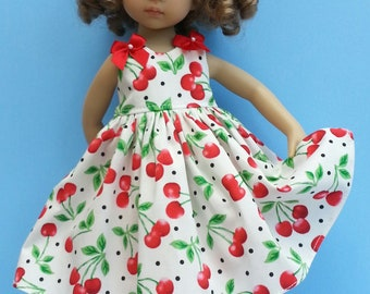 """Salstuff, 50's Style Strappy Sun Dress - to fit Dianna Effner Little Darling 13"""" Doll"""