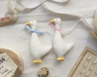 Easter Goose Decoration Tree Hanging - Small