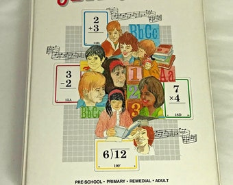 Hooked On Math System 1992 Cassettes, Workbooks, Flashcards