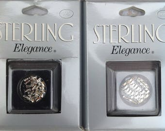 Sterling Silver Twisted Liquid Silver, two packages | Sterling Elegance | Twisted Liquid Silver | Silver | 925