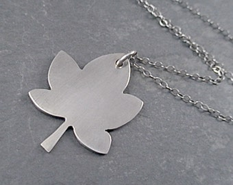 Layla Necklace - Sterling Silver