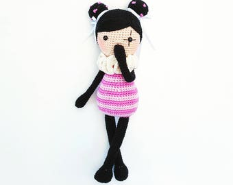 "Pattern ""Mascha"" Amigurumi Doll PDF (German only)"