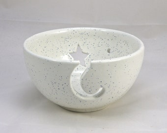 Large Pottery Yarn Bowl Knitting Bowl Crochet Bowl Lead free Glaze