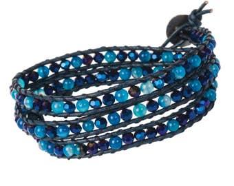 DIY Wrap Bracelet Kit - Deep Sea (WRAP062)