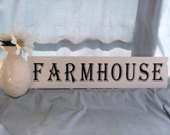 Farmhouse Vintage Sign