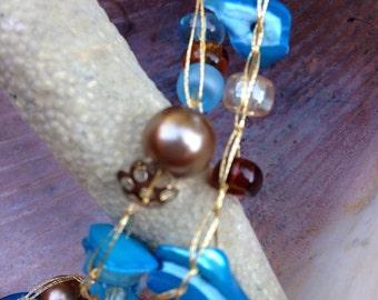 Crochet & Bead Necklace