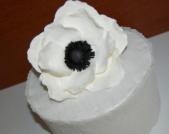 Anemone Wedding Cake Topper