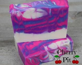 Sweet Pea Shea Butter Soap - Handmade Soap - All Natural Shea Butter Soap