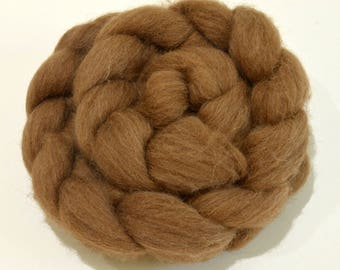 Manx Loaghtan Wool Combed Top - Rare Conservation Breed - 100 grams