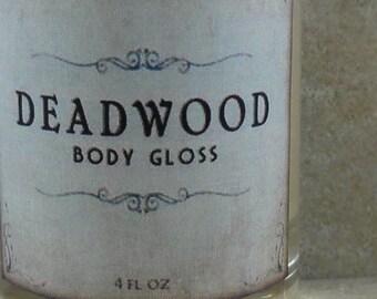 Deadwood - Body Gloss - Wild Honey, Golden Amber, Worn Brown Leather