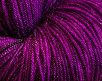 Victoria  Angus SW Merino/Nylon Approx 100grams