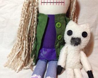 Meghan - Inspired by TWD - Creepy n Cute Zombie Doll (D)