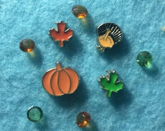 Thanksgiving Floating Charms