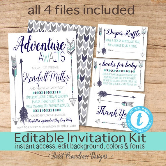adventure shower invitation adventure awaits baby boy invite