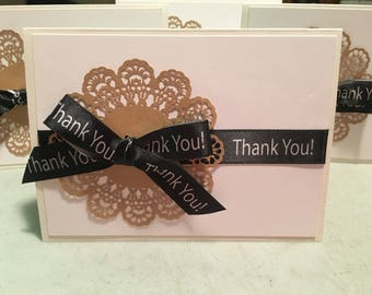 Thank You, Thank You Notes, Thank You Cards, Greeting Cards, Handmade Cards, Paper Crafted Cards,