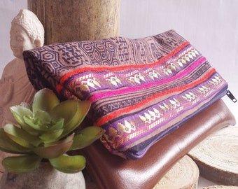 Boho clutch, ethnic pouch, boho, pouch, clutch bag, clutch, bohemian pouch, ethnic, gypsy, bags, purses, boho chic, gift, accessories