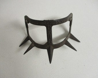 """Antique Calf Weaner mask dated October  11, 1933- """"Daisy"""" great country decor!"""