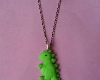 Pendant green ♥♥♥♥ dinosaur ♥ ♥