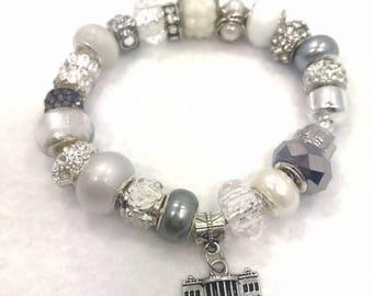 White House Charm Bracelet