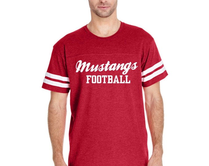 custom football shirt. unisex jersey shirt. Custom football shirt. Ladies overisized personailized shirt. You customize the WORDING.