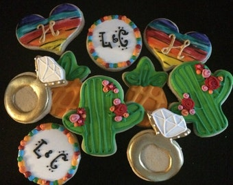 Fiesta Wedding Cookies
