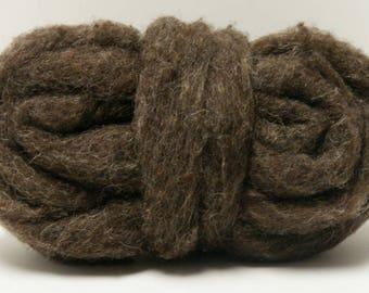 Écorce de mèches pour deux onces de feutrage de laine base