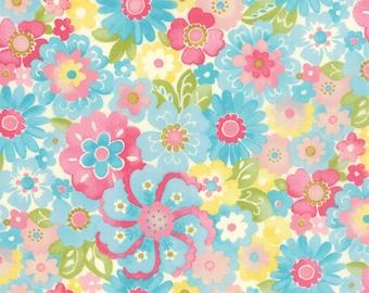 Colette - Blossom in Sky by Chez Moi for Moda Fabrics