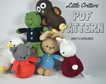 Amigurumi Pattern Little Critters